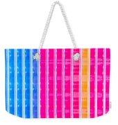 Colorful Plastic Weekender Tote Bag