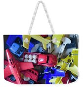 Colorful Plastic Toys #1 Weekender Tote Bag