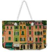 Colorful Portofino Weekender Tote Bag