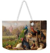 Colorful Poultry Weekender Tote Bag