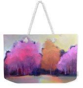 Colorful Reflection Weekender Tote Bag by Michelle Abrams