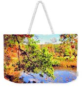 Colorful Reflections Weekender Tote Bag