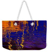 Colorful Ripple Effect Weekender Tote Bag