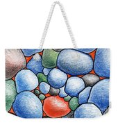 Colorful Rock Abstract Weekender Tote Bag
