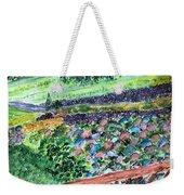 Colorful Rock Garden Weekender Tote Bag