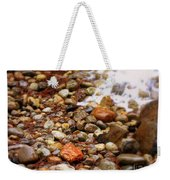 Colorful Rocks With Waterfall Weekender Tote Bag