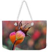 Colorful Rose Hips Weekender Tote Bag