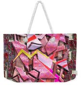 Colorful Scrap Metal Weekender Tote Bag