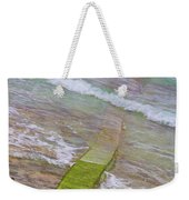 Colorful Seawall Weekender Tote Bag