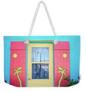 Colorful Signs Of The Tropics Weekender Tote Bag