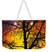 Colorful Silhouette Weekender Tote Bag