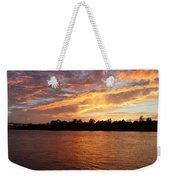 Colorful Sky At Sunset Weekender Tote Bag