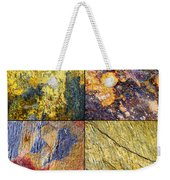 Colorful Slate Tile Abstract Composite Sq1 Weekender Tote Bag
