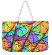 Colorful Slices Weekender Tote Bag