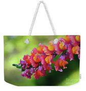 Colorful Snapdragon Weekender Tote Bag