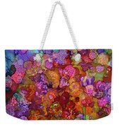 Colorful Spring Garden Weekender Tote Bag