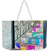 Colorful Stairs Weekender Tote Bag