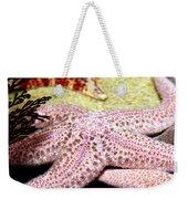 Colorful Starfish Weekender Tote Bag