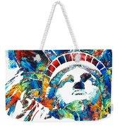 Colorful Statue Of Liberty - Sharon Cummings Weekender Tote Bag