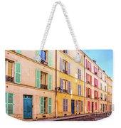 Colorful Street In Paris Weekender Tote Bag