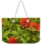 Colorful Summer Flowers Weekender Tote Bag