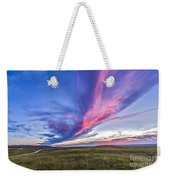Colorful Sunset At The Reesor Ranch Weekender Tote Bag