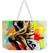 Colorful Thinker Weekender Tote Bag