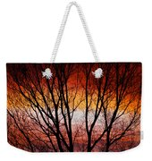 Colorful Tree Branches Weekender Tote Bag