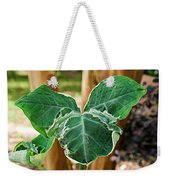 Colorful Tropical Foliage 1 Weekender Tote Bag