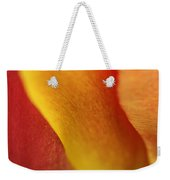 Colorful Tulip Closeup Abstract Weekender Tote Bag