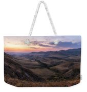 Colorful Valley Weekender Tote Bag