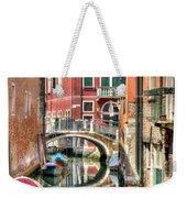 Colorful Venice  Weekender Tote Bag