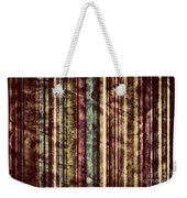 Colorful Vertical Stripes Background In Vintage Retro Style  Weekender Tote Bag