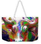 Colorful Wall Street Bull Weekender Tote Bag