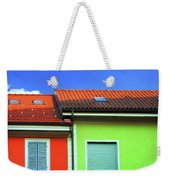 Colorful Walls And A Cloud Weekender Tote Bag