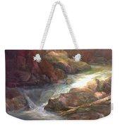 Colorful Water Flow Weekender Tote Bag