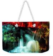 Colorful Waterfall Weekender Tote Bag