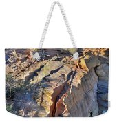 Colorful Wave Of Sandstone In Valley Of Fire State Park Weekender Tote Bag