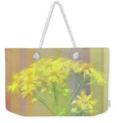 Colorful Wildflower Bouquet Weekender Tote Bag