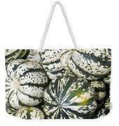Colorful Winter Acorn Squash On Display Weekender Tote Bag