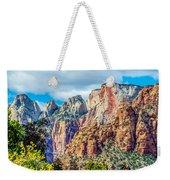 Colorful Zion Canyon National Park Utah Weekender Tote Bag