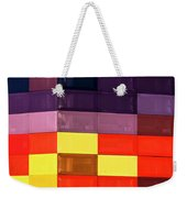 Colorfully Blocked Walls Weekender Tote Bag