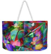 Colors And Geometries For A Violin  Weekender Tote Bag