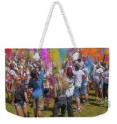 Colors Go Up Weekender Tote Bag