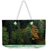Colors In Nature Weekender Tote Bag
