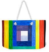 Colors Into One Weekender Tote Bag