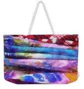 Colors Material Horizontal Pa 02 Weekender Tote Bag