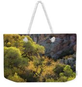 Colors Of Autumn In The Sonoran  Weekender Tote Bag