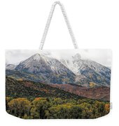 Colors Of Autumn On Mcclure Pass Weekender Tote Bag