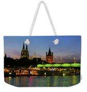 Colors Of Cologne Weekender Tote Bag
